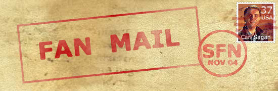skeptic,fan mail,letters to editor,correspondence